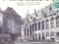 Malines Hotel de Ville interieur