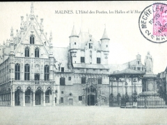 Malines L'Hotel des Postes les Halles