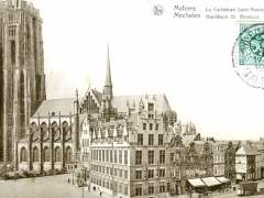 Malines La Cathedrale Saint Rombaut