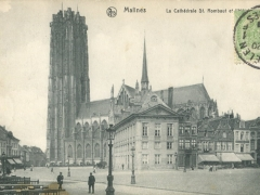 Malines La Cathedrale St Rombaut
