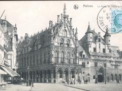 Malines La Poste les Halles et le Musee