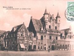 Malines Les Halles avant la Demolition