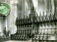 Malines Les stalles du choer de la Cathedrale