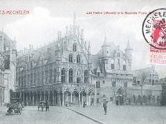 Malines Mechelen Les Halles Musee et la Nouvelle Poste Centrale
