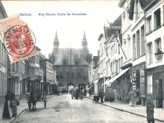 Malines Rue Haute Porte de Bruxelles