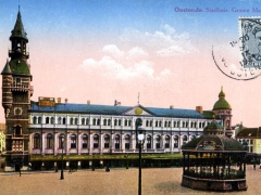 Oostende Stadthuis Groote Markt