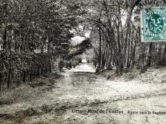 Orroir Mont de l'Enclus Route vers la Sapiniere