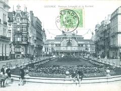 Ostende Avenue Leopold et le Kursaal
