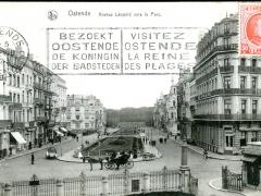 Ostende Avenue Leopold vers le Parc