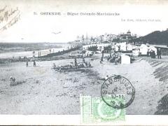 Ostende Digue Ostende Mariakerke