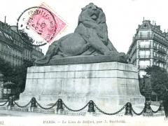 Parris Le Lion de Belfort pa A Bartholdi