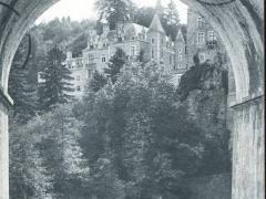 Remouchamps Chateau de Montjardin Une arche du Pont