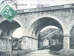 Remouchamps Le Pont pres de la Gare