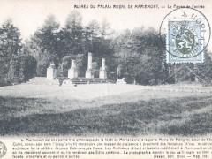 Ruines du Palais Royal de Mariemont