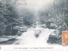 Sart lez Spa La Hoegne Cascade Leopold II