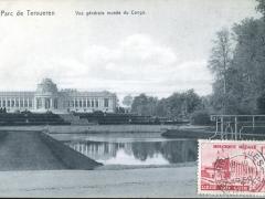 Tervueren Parc Vue generale musee du Congo