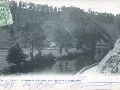 Tilff L'Ourthe a la Sortie des Grottes Lumineuses