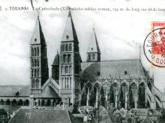 Tournai La Cathedrale edifice roman