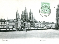 Tournai La Grand'place