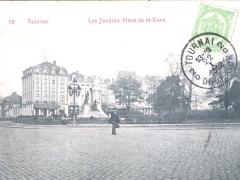 Tournai Les Jardins Place de la Gare