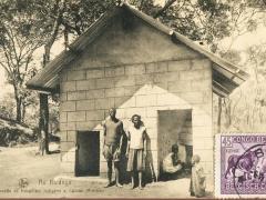 Au Katanga Maisonnette de travailleur indigene a l'Union Miniere
