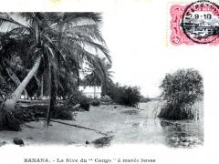 Banana La Rive du Congo a maree basse