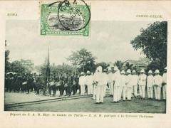 Boma Depart de s A R Mgr le Comte de Turin