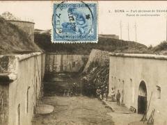 Boma Fort declasse de Shinkakasa Fosse de contrescarpe