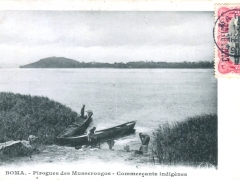 Boma-Pirogues-des-Musserongos-Commercants-Indigenes