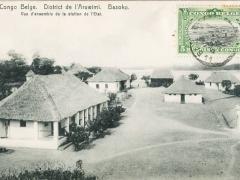 District de l'Aruwimi Basoko Vue d'ensemble de la station de l'Etat