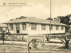 Elisabethville Katanga L'une des salles de l'hospital pour Indigenes de l'Union Miniere