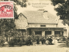 Elisabethville Katanga Maison de chef de service a l'Union Miniere