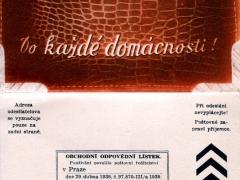 Werbekarte Faltkarte mit Antwortkarte
