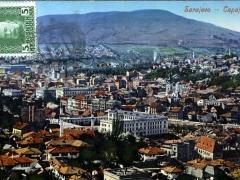 Sarajevo Gesamtansicht