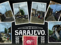 Sarajevo Mehrbildkarte