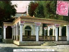 Mandalay the Palace King Theebaw's Sitting Room