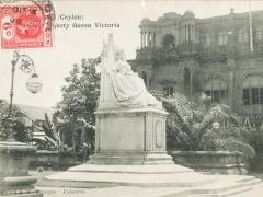 Colombo Queen Victoria Statue