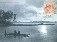 Colombo lake by Moonlight