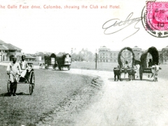 Colombo-the-Galle-Face-drive-showing-the-Club-and-Hotel