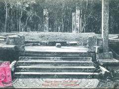 Moon Stone and Steps Kings Palace Anuradhapura