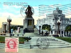 Habana Monumento a Luz Caballero