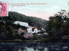 Lake and Crystal Spring Water Works Pine Hill Karte in Cuba aufgegeben