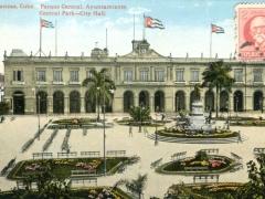 Matanzas-Parque-Central-Ayuntamiento