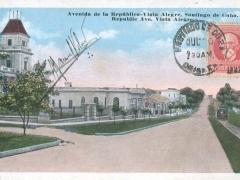 Santiago de Cuba Avenida de la Republica Vista Alegre
