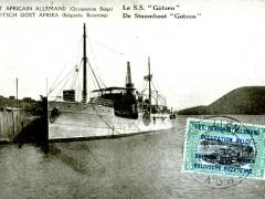 De Stoomboot Götzen