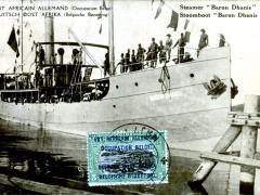Stoomboot Baron Dhanis