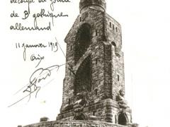 Aachen Bismarckturm i Stadtwald