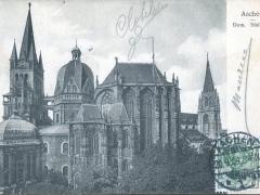 Aachen Dom Südseite