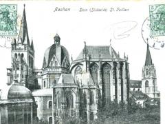 Aachen Dom Südseite St Foillan