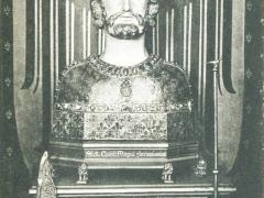 Aachen Kaiserdom Büste Karls des Grossen